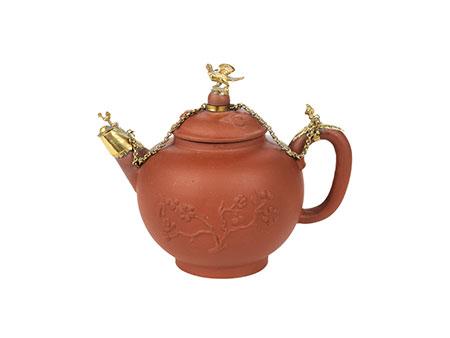 Ormolu-montierte Teekanne