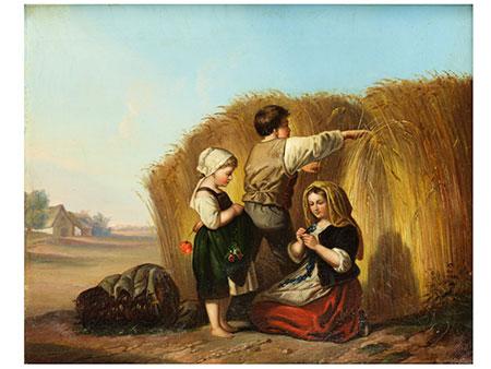Gustav Bartsch, geb. 1821, zug.