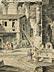 Detail images: Hubert Robert, 1733 Paris – 1808 ebenda