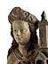 Detail images: Museale Schnitzfigur der Heiligen Barbara