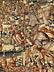 Detail images: Frühe Brüsseler Tapisserie mit Darstellung einer kriegerischen Beutezugszene mit reitender Herrscherfigur