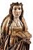 Detailabbildung: Figur einer weiblichen Heiligen