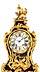 Detail images: Große französische Rokoko-Pendule mit Konsole