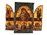Detailabbildung: Triptychon-Ikone