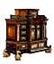 Detailabbildung: Außergewöhnliches Barock-Kabinett