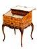 Detailabbildung: Außergewöhnliches frei stellbares Barock-Schreibmöbel