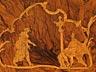 Detail images: Außergewöhnliches frei stellbares Barock-Schreibmöbel