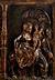 Detail images: Relief mit der Heiligen Familie