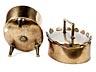 Detail images: Ovales Deckelgefäß