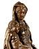 Detail images: Qualitätvoll geschnitzte Standfigur einer Maria mit dem Kind