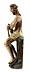 Detail images: Spätgotische Schnitzfigur Christus in der Rast