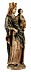 Detail images: Spätgotische Schnitzfigur einer Madonna mit dem Kind