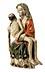 Detail images: Frühgotische Schnitzfigurengruppe einer Pietà