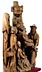 Detail images: Schnitzfigurengruppe Kreuzabnahme Christi