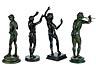Detail images: Gruppe von vier Bronzefiguren nach der Antike