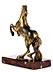 Detailabbildung: Springendes Bronzepferd