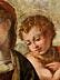 Detail images: Michele Tosini, genannt Michele di Ridolfo del Ghirlandaio , 1503 Florenz – 1577, zug.