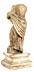 Detail images: Weiblicher Alabastertorso im Stil der Antike