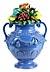 Detail images: Vase mit fruktalem Gesteck nach Giovanni della Robbia (1469 – 1529)