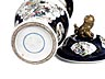 Detail images: Paar Vasen und eine Deckelvase