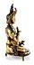 Detail images: Tibetanische Bronzefigur