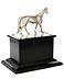 Detail images: Silbernes Pferd auf Postament - Offiziersgeschenk