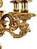 Detail images: Paar vergoldete Bronzegirandolen
