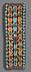 Detail images: Seltener Königsumhang in Perlstickerei mit Bänderdekor und stilisierter Ornamentik