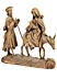 Detail images: Schnitzfigurengruppe Flucht nach Ägypten