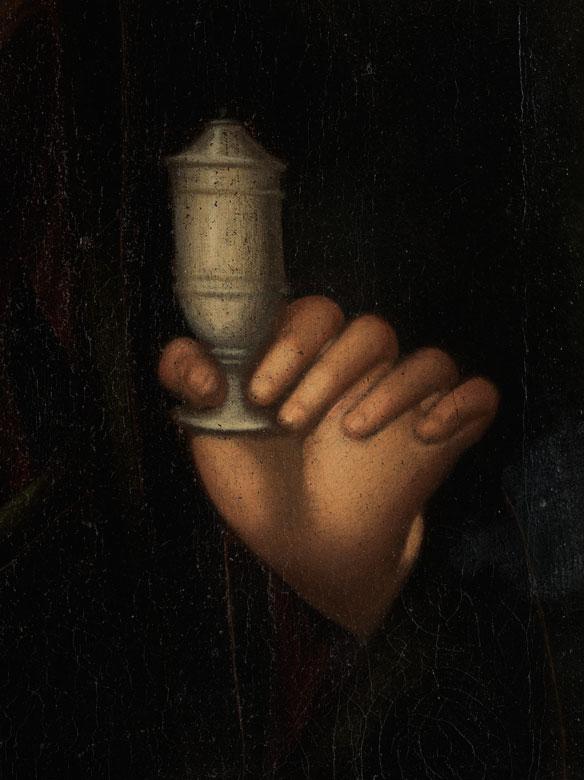 Detailabbildung: Bernardino Luini, um 1480/ 85 Runo – 1532 Mailand, zug.