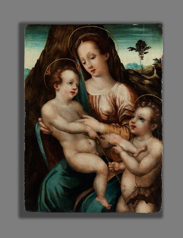 Detailabbildung: Italienischer Meister des beginnenden 17. Jahrhunderts aus der Schule von Parma