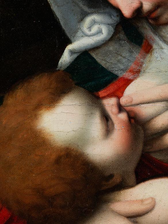 Detailabbildung: Andrea Solario, um 1470 Mailand – 1525, zug