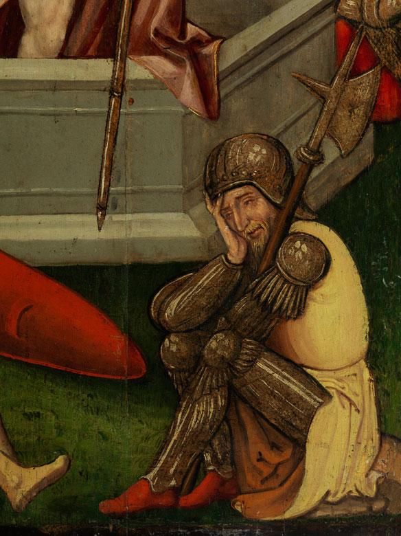 Detailabbildung: Meister der rheinischen oder niederländischen Schule des 15. Jahrhunderts