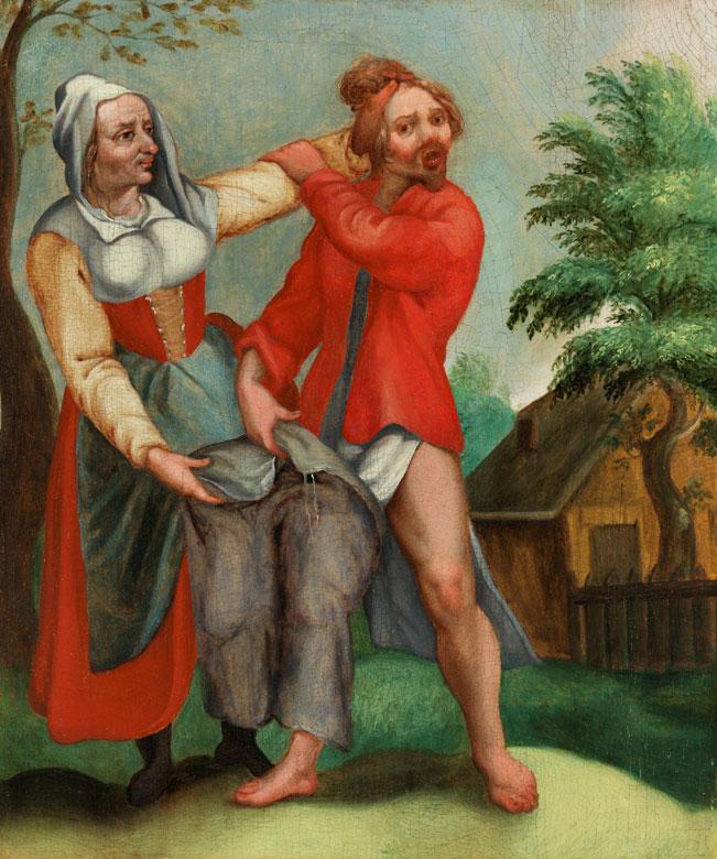 Haarlemer Meister in der direkten Nachfolge Pieter Brueghel des Jüngeren