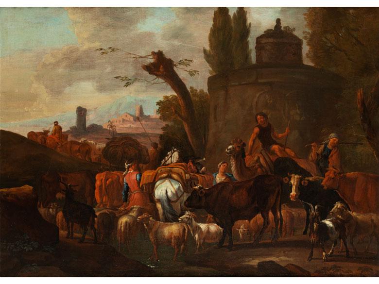 Pieter van Bloemen, 1657 Antwerpen – 1720, zug.