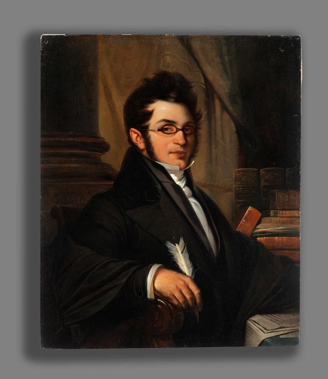Detailabbildung: Jean Jacques Bekkers, 1814 – 1872