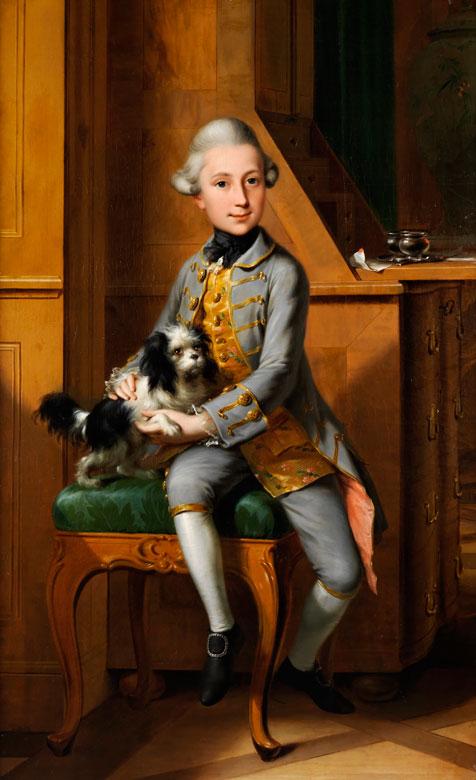 Anton Wilhelm Tischbein, 1730 Haina – 1804 Hanau, zug.
