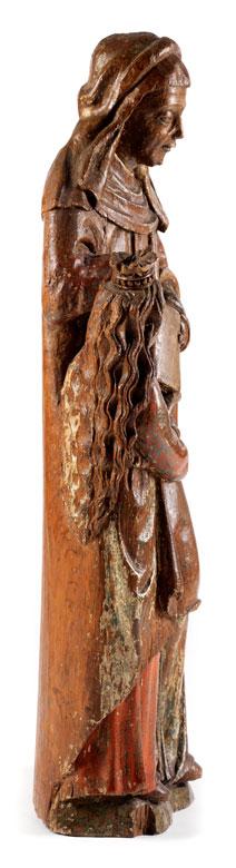 Detailabbildung: Figurengruppe der Heiligen Anna mit der jugendlichen Maria
