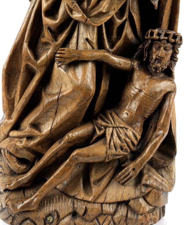 Detailabbildung: Figurengruppe der Beweinung Christi