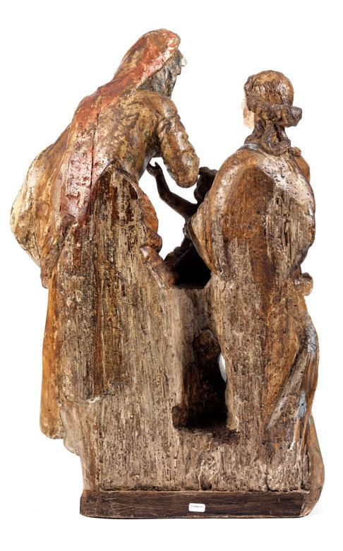 Detailabbildung: Figurengruppe Anna Selbdritt