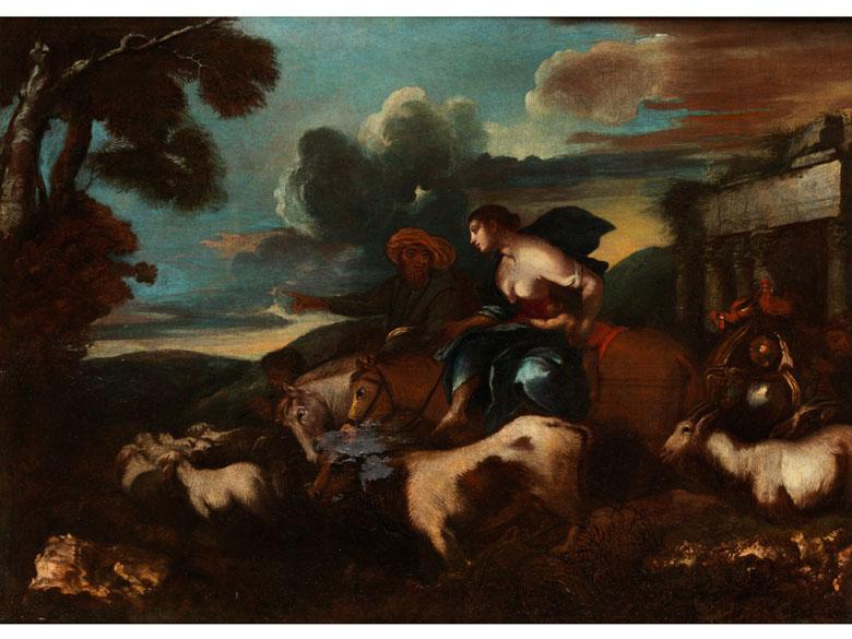 Giovanni Benedeto Castiglione, 1609 – 1664, zug.