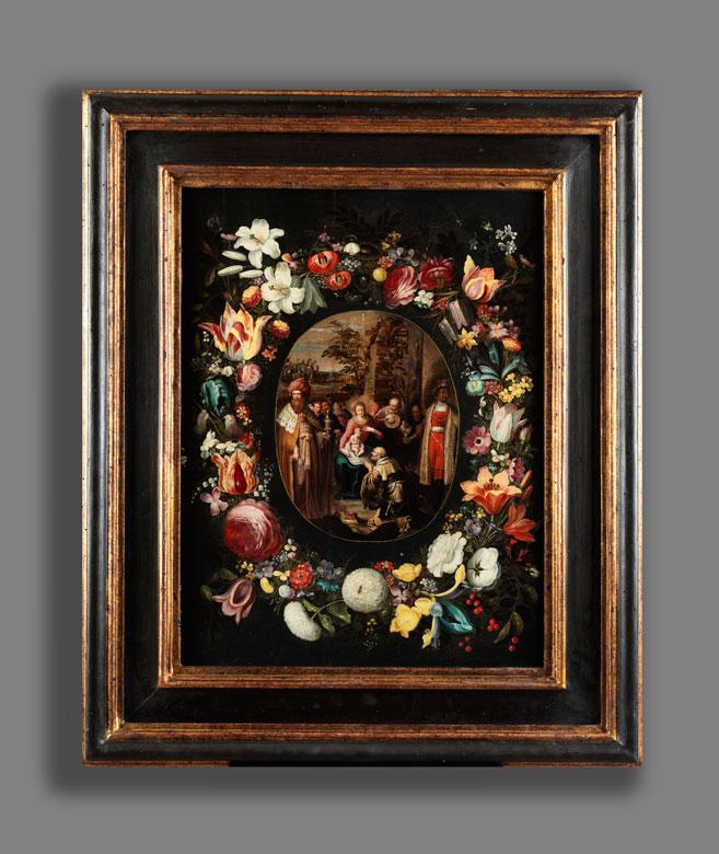 Detailabbildung: Jan Brueghel d. J. (1601 – 1678) und Werkstatt Frans Francken II (1581 – 1642)