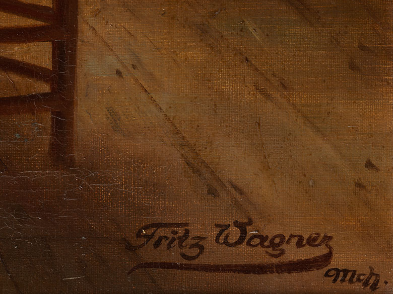 Detailabbildung: Fritz Wagner, 1896 München – 1939 ebenda