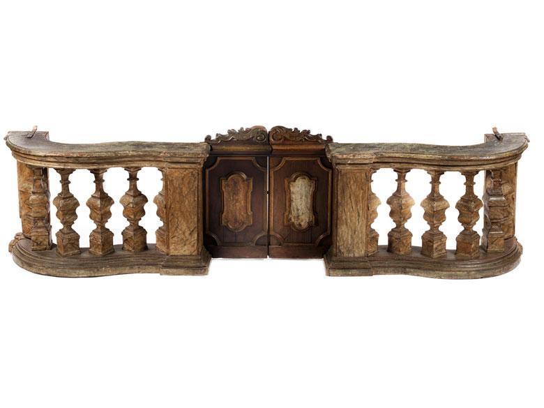 Detailabbildung: Barock-Balustrade