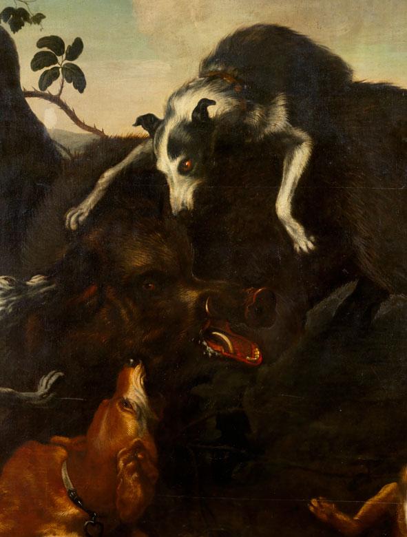 Detailabbildung: Jan Fyt, 1611 Antwerpen – 1661 ebenda, zug.