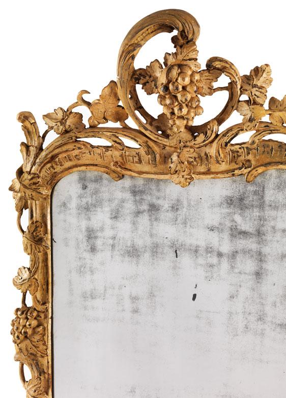 Detailabbildung: Rokoko-Spiegel