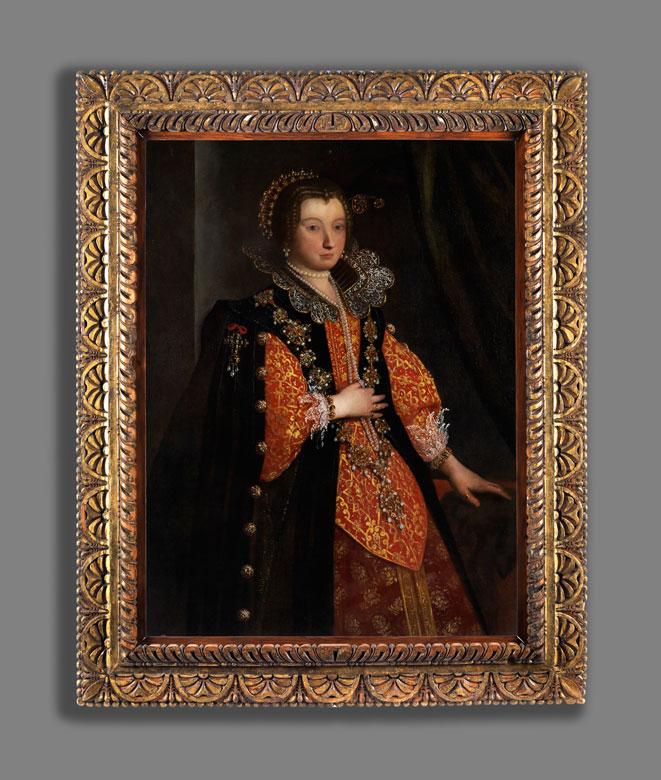 Detailabbildung: Italienischer Hofmaler des 17. Jahrhunderts