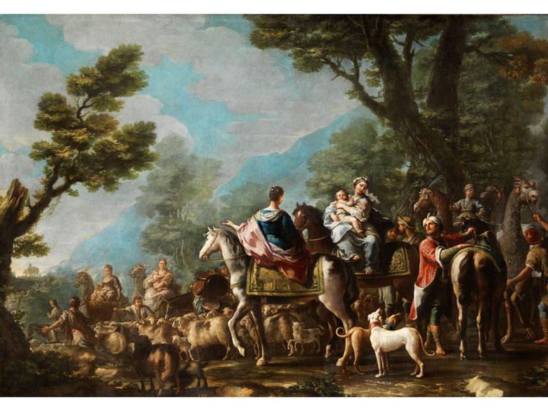 Andrea Locatelli, 1695 – 1741, Kreis des