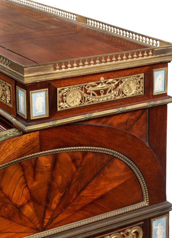 Detailabbildung: Großes Rollzylinder-Bureau