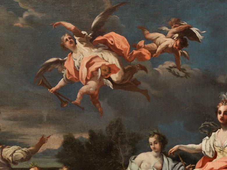 Detailabbildung: Giovanni Camillo Sagrestani, 1660 – 1731, zug.